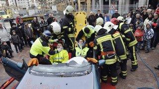 Les sapeurs-pompiers à pied d'œuvre pour la solidarité à travers tout le canton