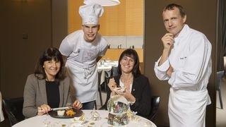 """Du concours de """"Top Chef au CO"""" à la cuisine d'un des meilleurs cuisiniers suisses"""