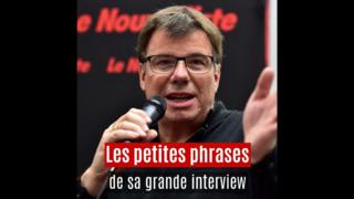 La grande interview de René Constantin, morceaux choisis