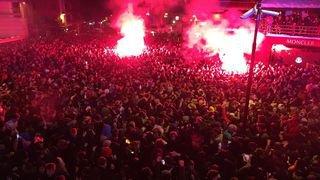 Le Valais s'est mis sur son 31 pour fêter la nouvelle année