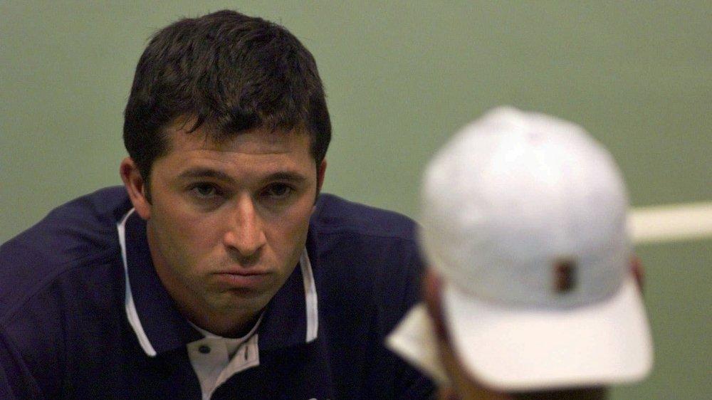Claudio Mezzadri, ancien capitaine de l'équipe de Suisse de Coupe Davis.