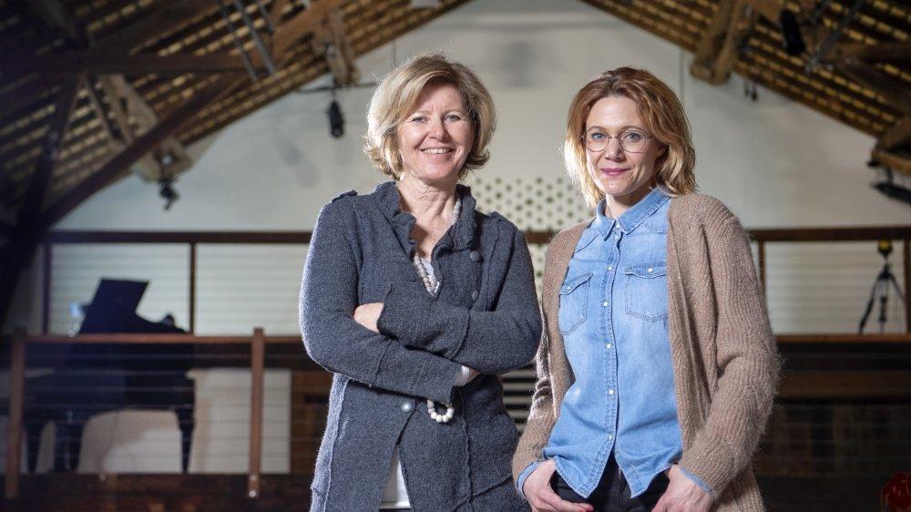 Isabelle Pannatier et Anne Jean-Richard sont sur la même longueur d'onde.