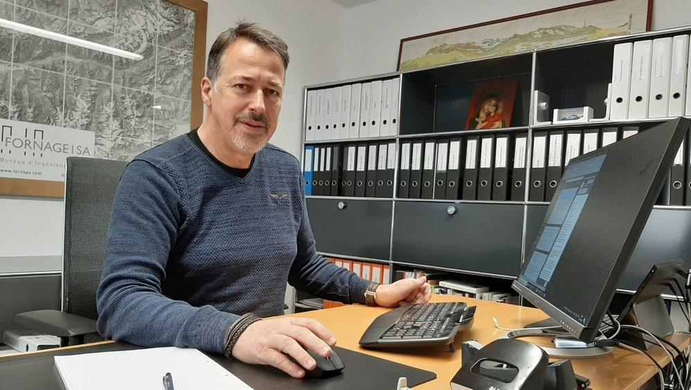 Pierre-Marie Fornage a œuvré durant vingt-sept ans pour les remontées mécaniques chablaisiennes.