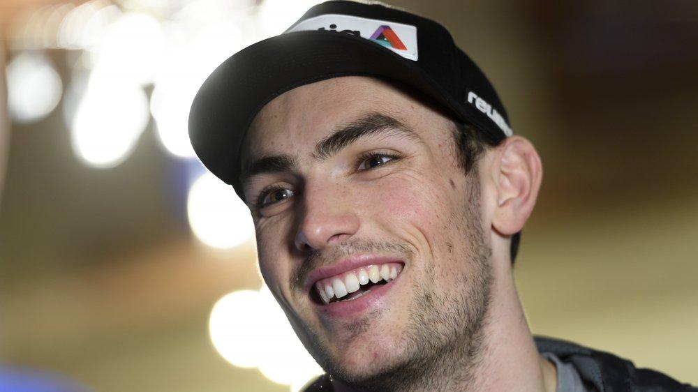 Daniel Yule peut avoir le sourire: il reste sur deux succès avant d'aborder le slalom de Wengen.