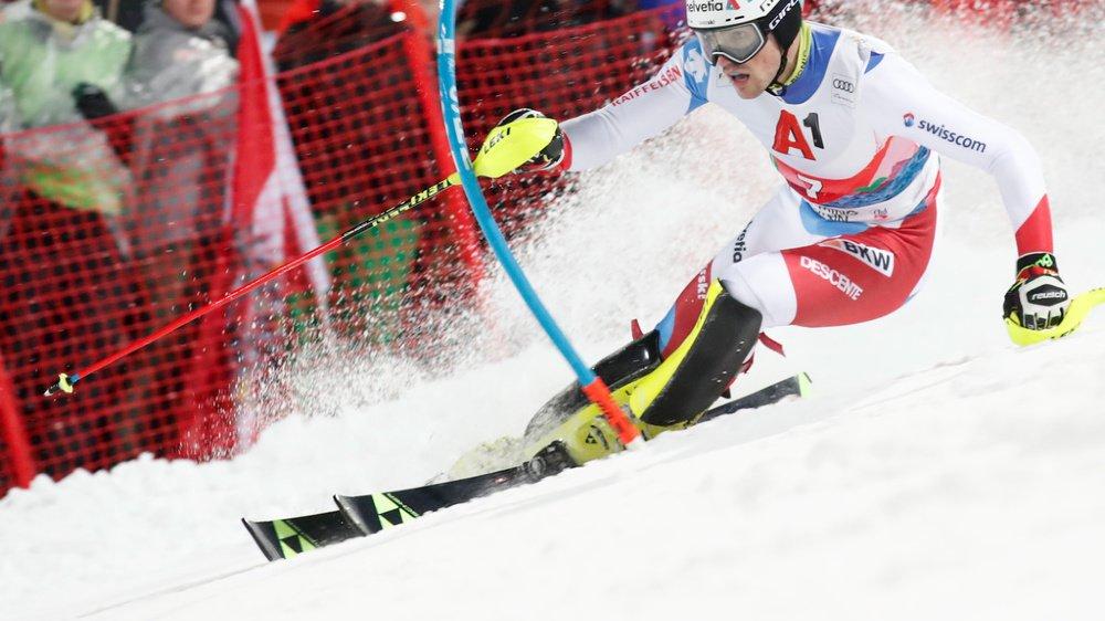 Daniel Yule a prouvé une fois de plus qu'il fait partie des meilleurs slalomeurs du monde.