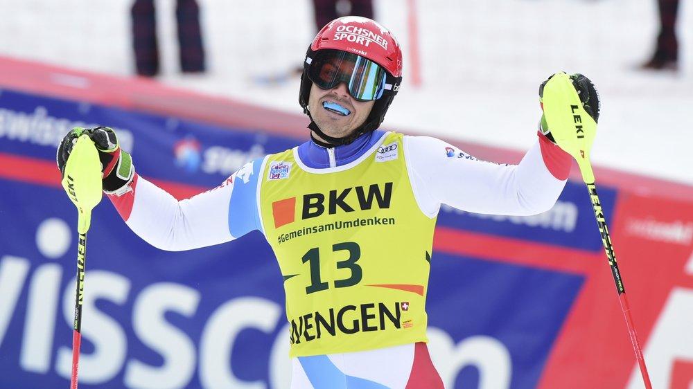 Quatrième, Loïc Meillard aurait quand même souhaité être plus rapide sur le slalom.