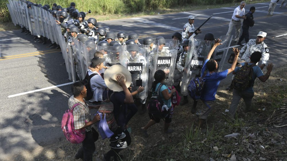 Migrants arrêtés