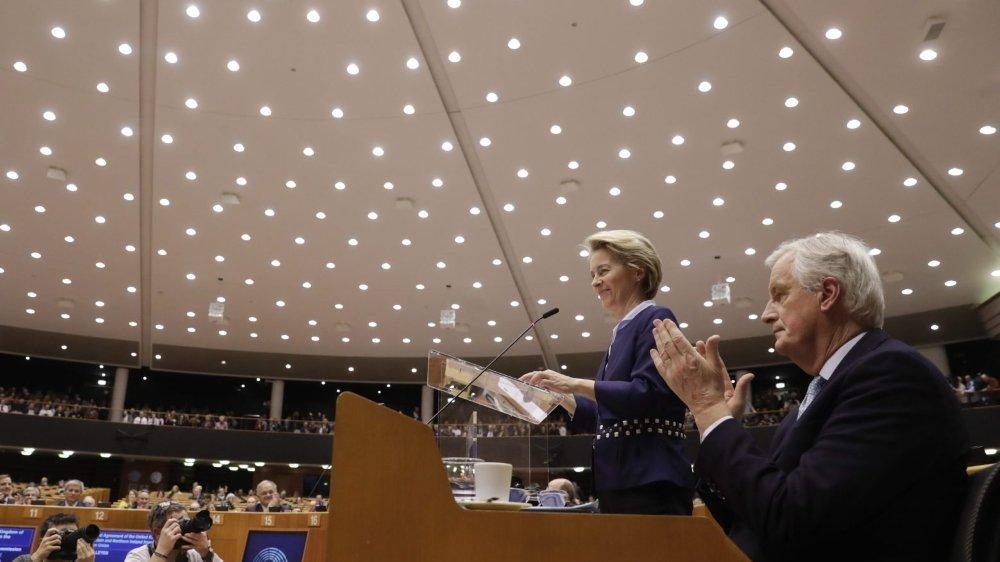 Le Parlement européen parachève le Brexit