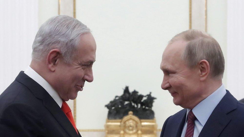 Netanyahou fait sa pub de Washington à Moscou