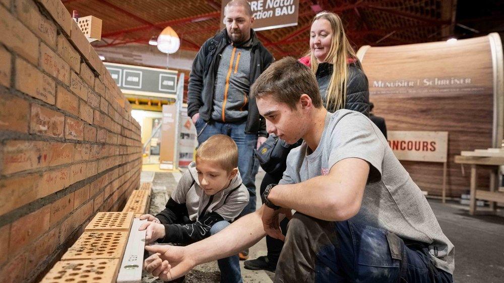 Pierrick (12 ans) veut découvrir tous les métiers de la construction, lui qui rêve de devenir architecte.