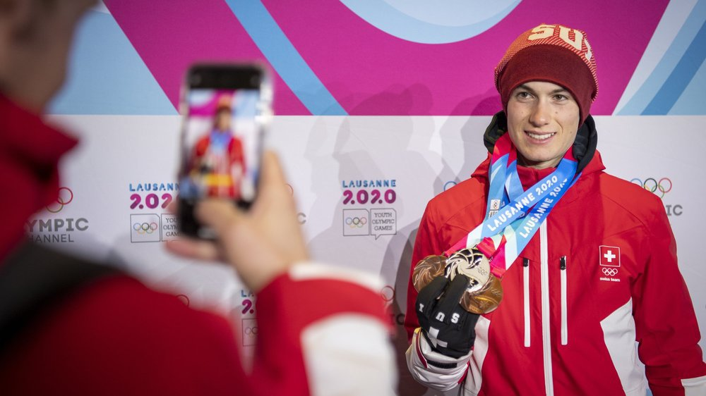 Avec trois médailles, Luc Roduit a été l'une des très bonnes surprises valaisannes lors des JOJ.