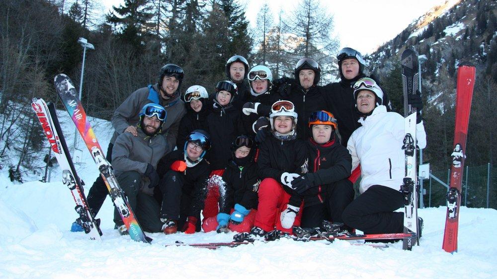 Les skieurs de la structure ART 21 et leurs moniteurs se préparent pour les Jeux nationaux de Special Olympics.