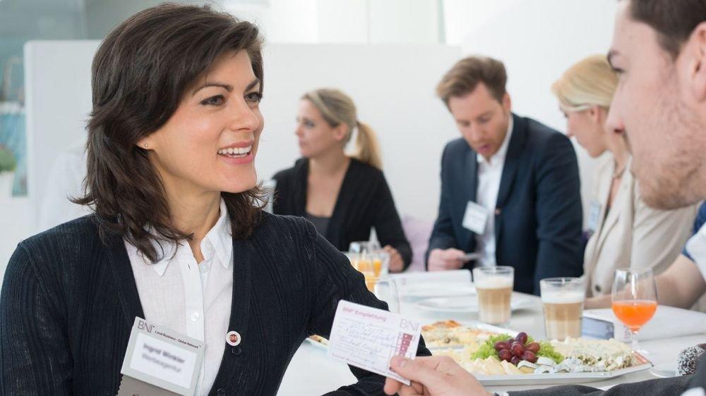 Réseau de recommandations d'affaires, le BNI se développe en Valais.