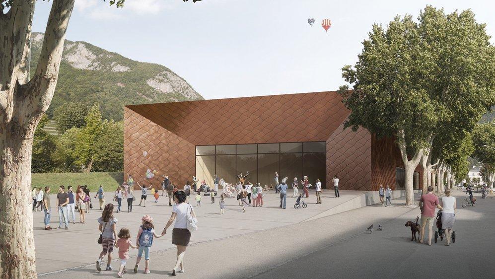 L'Espace Evénements des Glariers pourrait accueillir ses premiers spectacles en 2023.