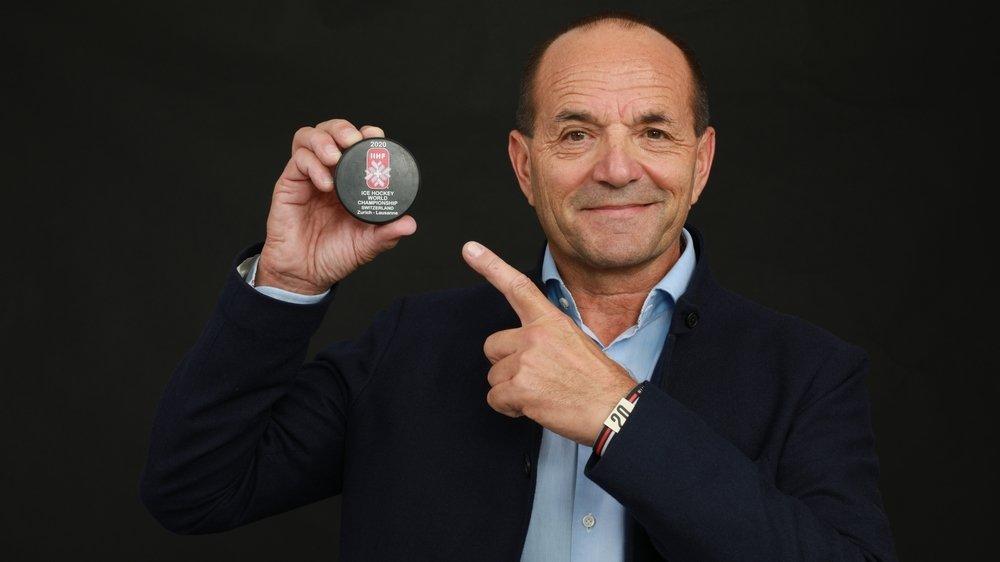 Gian Gilli est le directeur des Mondiaux de hockey 2020.