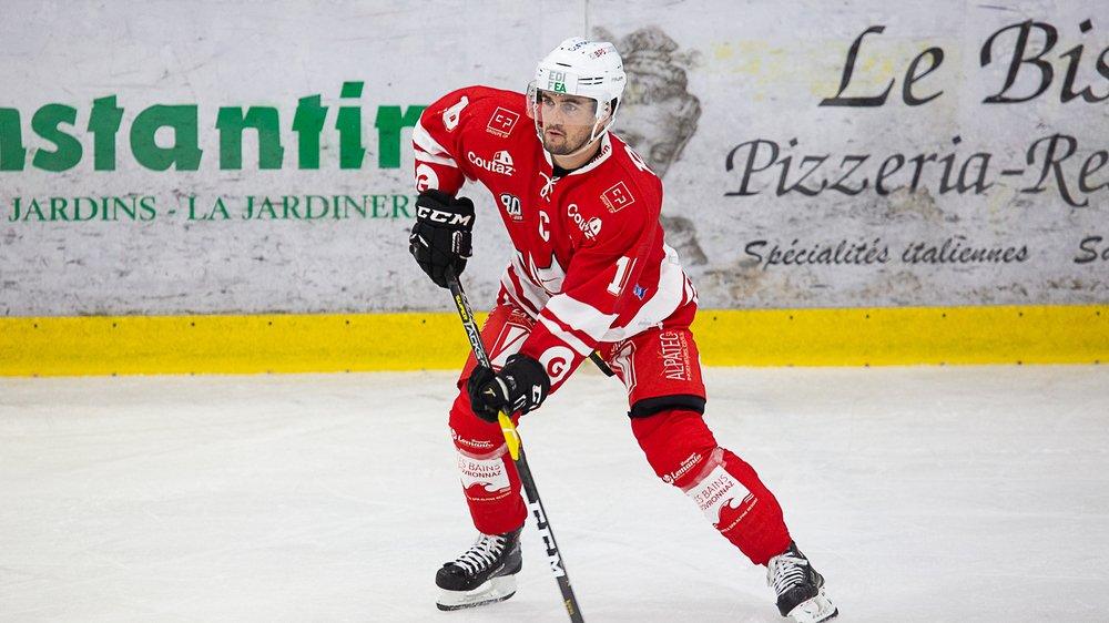 Jérémy Gailland, 47 points, meilleur compteur en MS League, reste l'un des meilleurs atouts du HCV Martigny.
