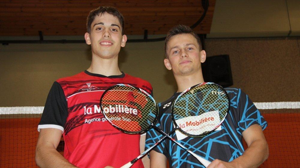 Alexandre Briguet et Nicolas Gerber se préparent pour le derby qui les opposera samedi à Saint-Maurice.