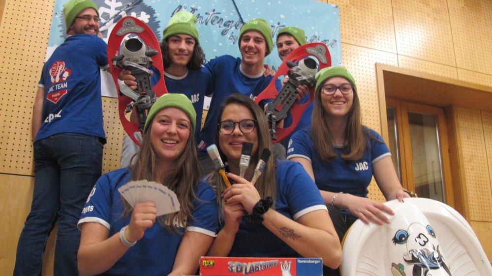 Les membres de la Jeunesse active de la Côte sur Orsières se réjouissent de s'engager ce week-end en faveur de la collectivité.