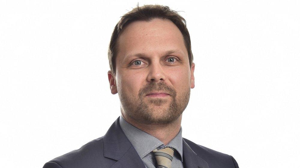 Joachim Rausis, président du PDCVr, s'exprime sur le changement de nom de son parti.