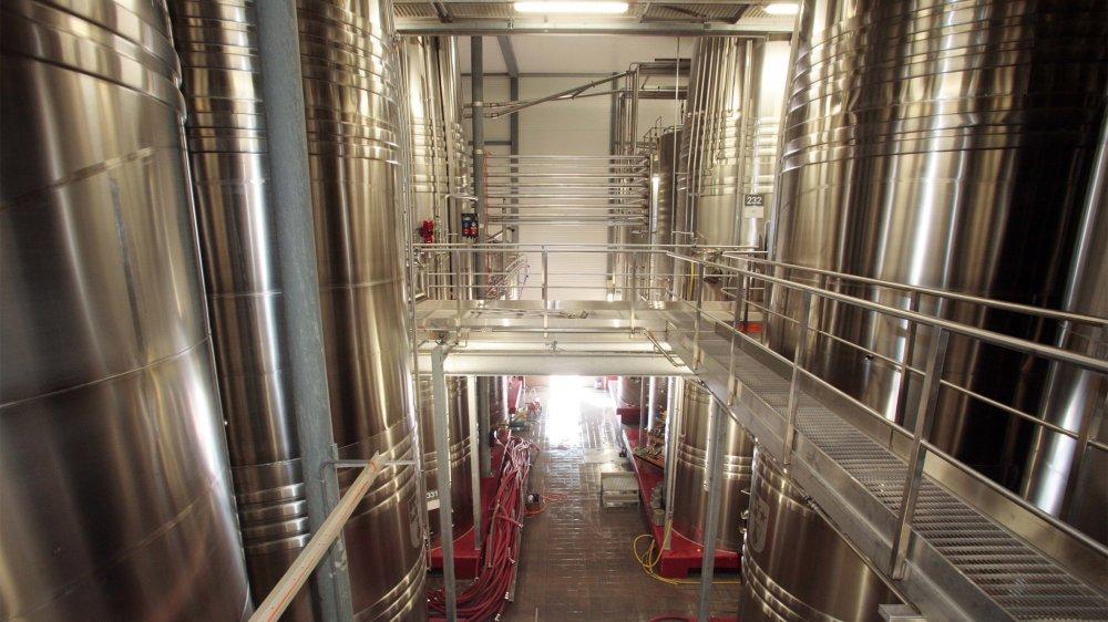 Provins comptait 6.9 millions de litres de stocks au 31 août 2019.