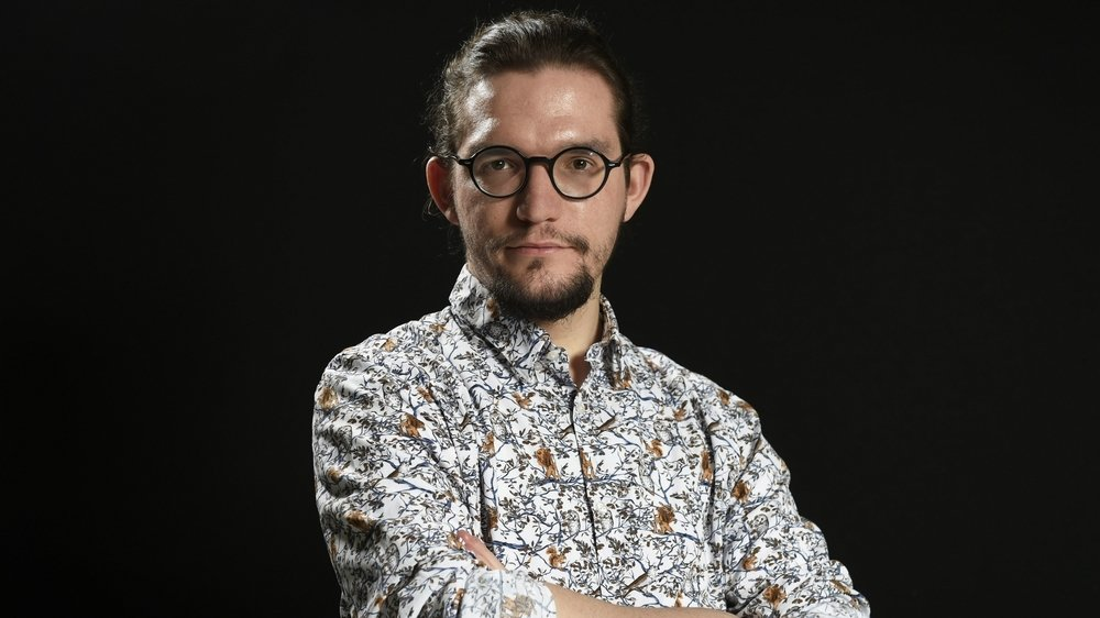 Thibault Hugentobler, étudiant.