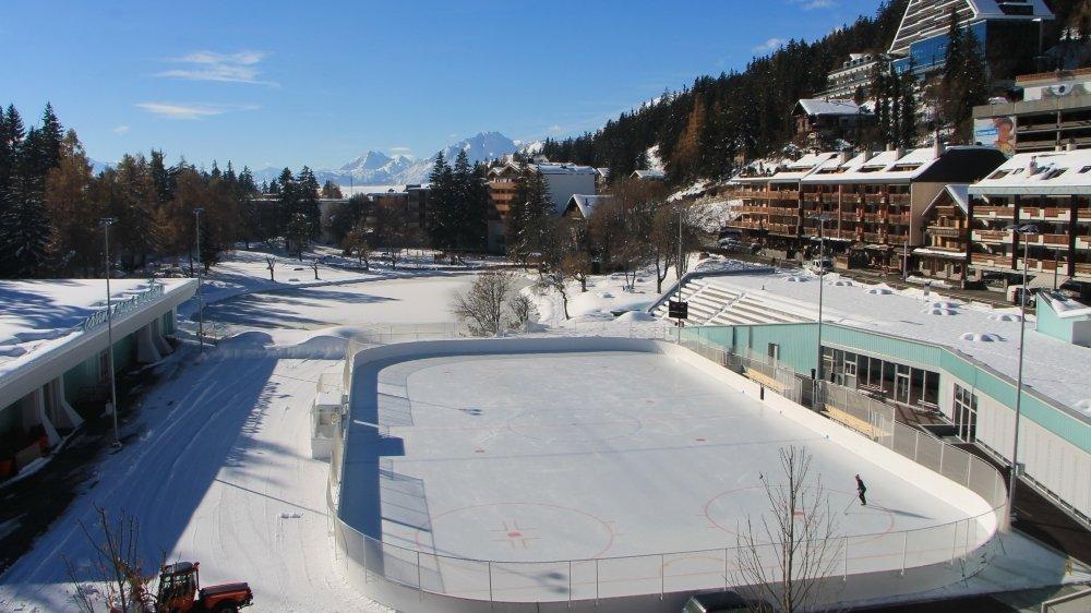 Importante pour toute la destination, la patinoire d'Ycoor est l'une des dernières grandes réalisations de l'ACCM.