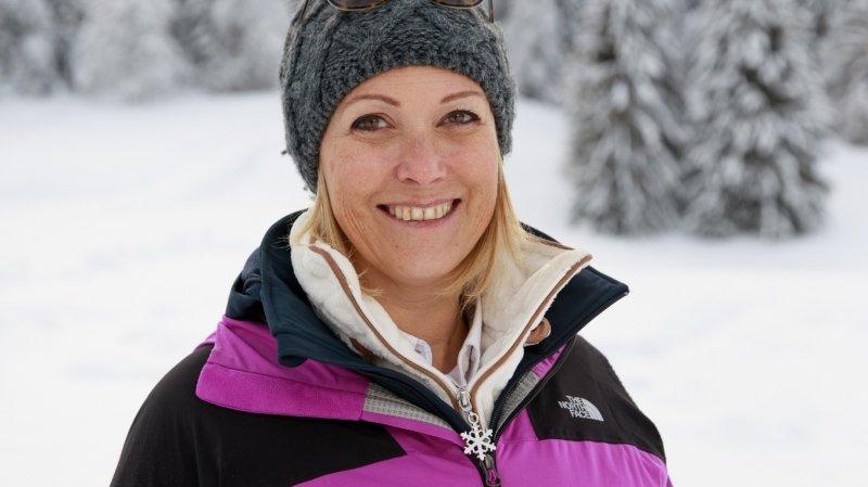 Aline Bovier, directrice de l'aéroport de Sion, star de l'émission «Gens d'hiver» vendredi