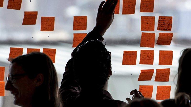 En 2015, lors de la dernière édition, les délégués collaient toutes leurs actions sur post-it. (Archives)