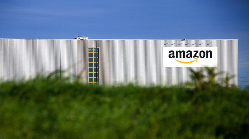 Amazon est souvent critiqué pour son empreinte carbone en raison de la consommation d'énergie de ses immenses fermes de serveurs. (illustration)