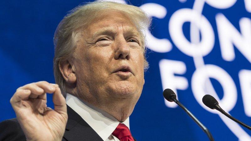 WEF 2020: Trump ravi de sa venue à Davos