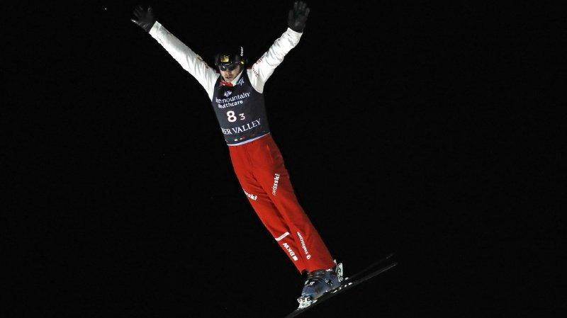Ski freestyle: le Suisse Noé Roth prend les commandes de la Coupe du monde