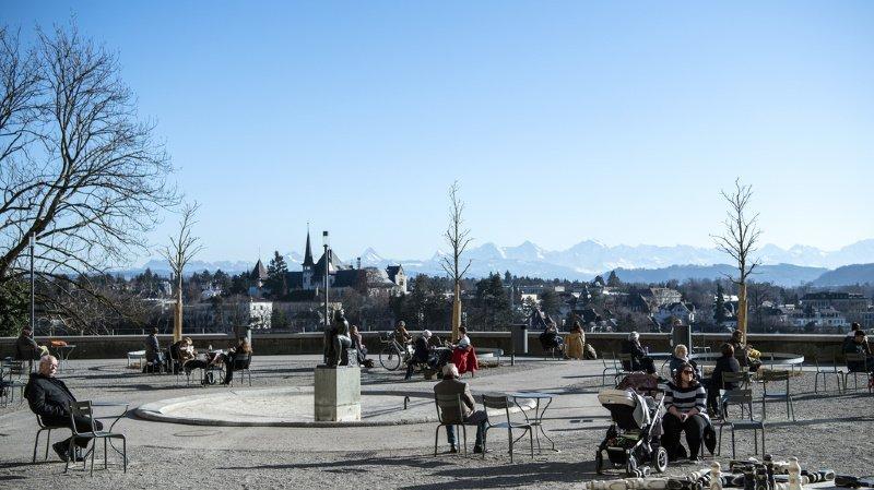 Les Suisses ont pu profiter du soleil et de la douceur en ce début d'année.