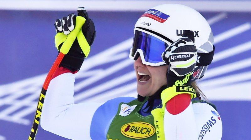 Ski alpin: Joana Hählen finit 3e du Super-G de Rosa Khutor, doublé italien