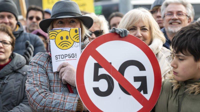 Genève: environ 200 manifestants font part de leur peur de la 5G