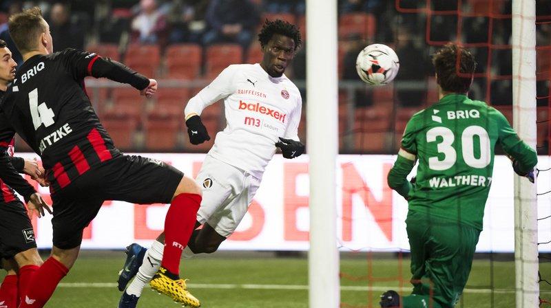 L'attaquant Koro Kone a marqué le 1er but genevois après moins d'une minute.
