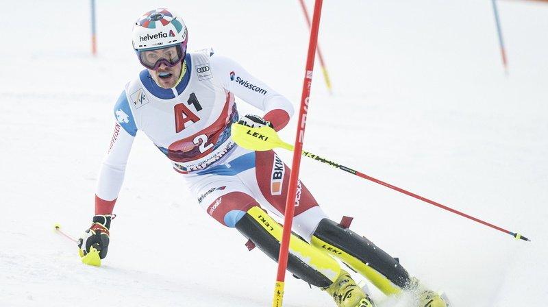Ski alpin: Daniel Yule est provisoirement en tête du slalom de Chamonix