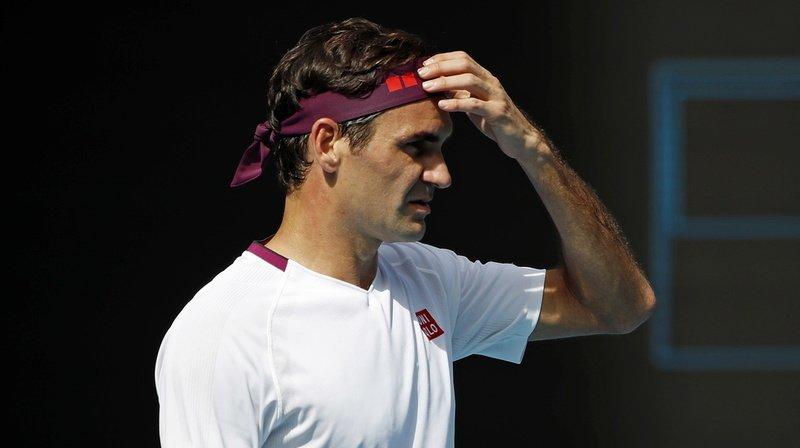 Roger Federer s'était un peu emporté lors de son quart de finale remporté mardi contre Tennys Sandgren.