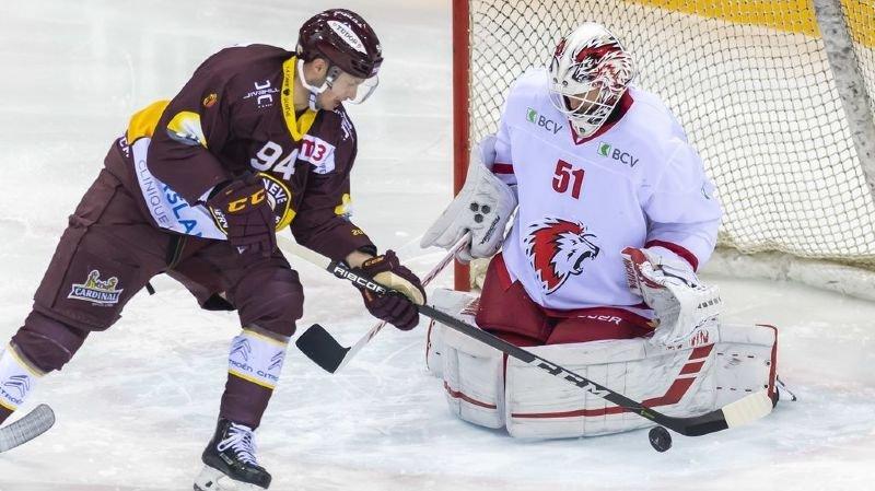 Hockey: Lausanne braque la banque genevoise 3-0