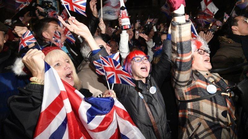 Brexit: c'est fait, le Royaume-Uni n'est plus membre de l'Union européenne