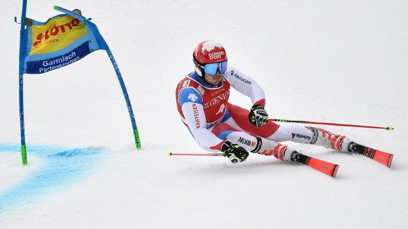 Ski alpin: Loïc Meillard prend une magnifique 2e place au Géant de Garmisch, Pinturault vainqueur