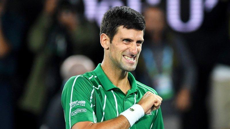 Tennis – Open d'Australie: revenu de nulle part, Djokovic remporte la finale face à Thiem