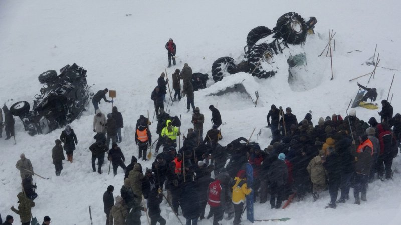 Deux avalanches en Turquie: le bilan s'alourdit à près de 40 morts