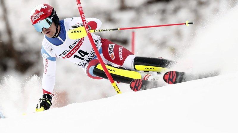 Ski alpin: Loïc Meillard, Thomas Tumler et Tanguy Nef qualifiés pour le géant parallèle de Chamonix