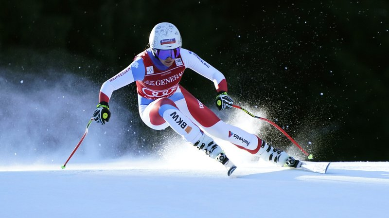 Ski alpin: Corinne Suter termine 5e de la descente de Garmisch, remportée par Rebensburg