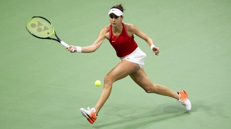 Belinda Bencic a remporté son premier match vendredi.