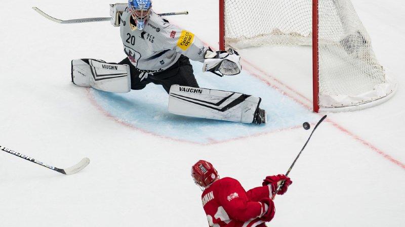 Hockey: Fribourg Gottéron l'emporte face à Lausanne