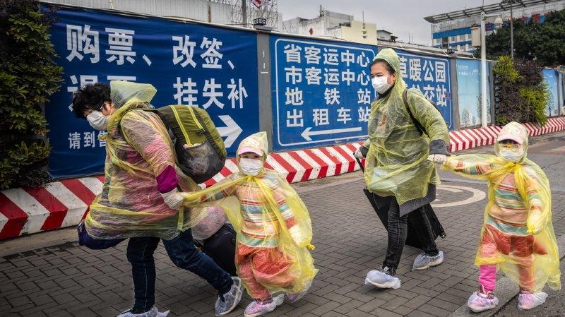 Coronavirus: le bilan passe à 1355 morts et près de 60'000 contaminés en Chine
