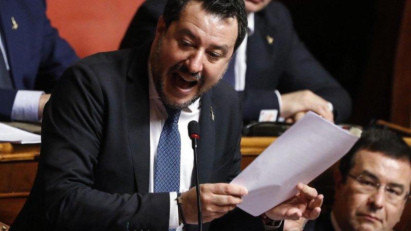 Italie: Salvini renvoyé en justice par le Sénat pour séquestration de migrants