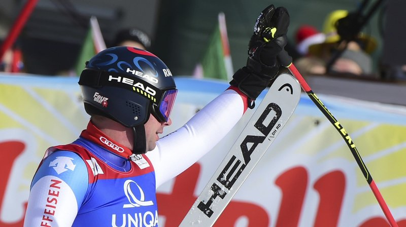 Ski alpin: Beat Feuz termine 2e de la descente de Saalbach, devant Caviezel, Janka et Hintermann