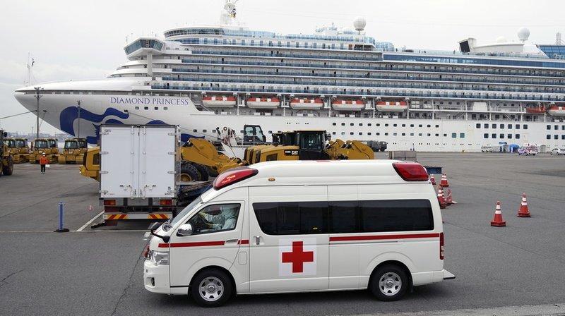 Coronavirus: le nombre de personnes infectées sur le paquebot au Japon monte à 355